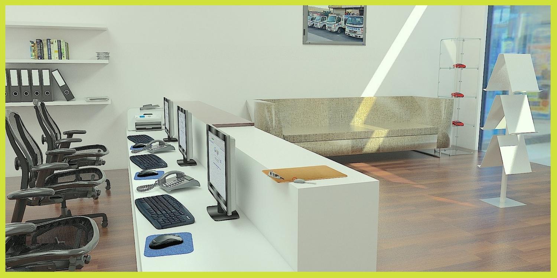 Arredo lombardia reception per uffici